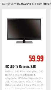 Lokal Edeka Center Speyer JTC Genesis 2.1 G LED TV 21,5 Zoll
