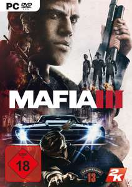 Mafia III (PC Retail) für 6,99€ bzw. für 6,29€ (Müller)