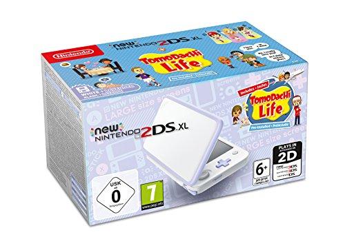 [Amazon] New Nintendo 2DS XL Weiß + Lavendel inkl. Tomodachi Life