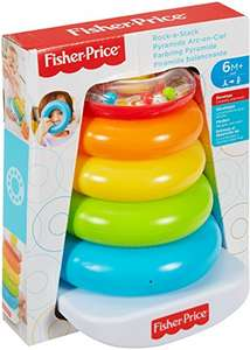 [amazon PRIME] Fisher-Price Mattel FHC92 - Farbring Pyramide