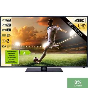 "49"" JTC Nemesis UHD TV mit Triple Tuner ab 221€ [Plus]"