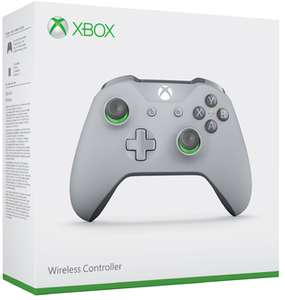 Xbox One S Wireless Controller (Grey and Green Special Edition) für 44,68€ (ShopTo)