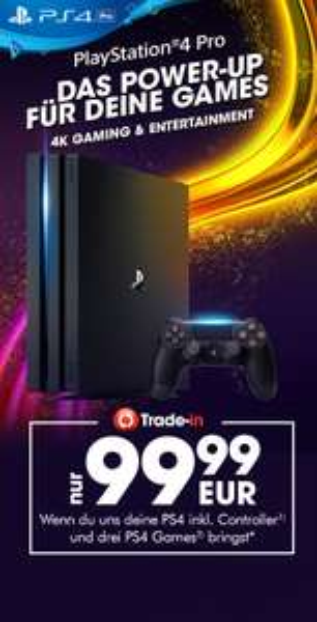 (Gamestop) (Bundesweit) PS4-Pro Trade-In