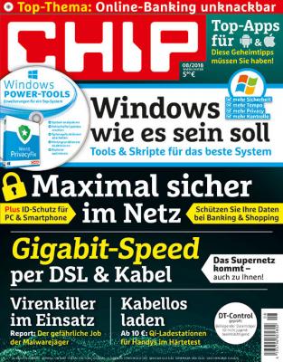 CHIP mit DVD 3/6/12 Monate für 11,90 €/ 34,80 €/ 69.60 € mit 10 €/ 30 € / 50 € Amazon-Gutschein