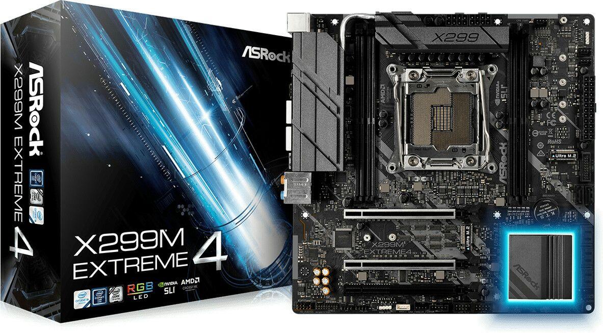 ASRock X299M Extreme4 Mainboard - mATX, Sockel 2066 (Amazon.fr)