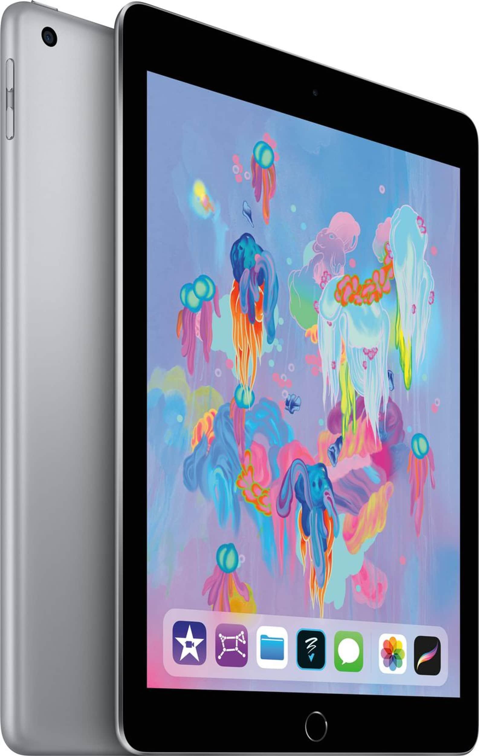 APPLE iPad 2018 128 GB Wifi alle Farben für 291,75 € bei [meletronics CH]