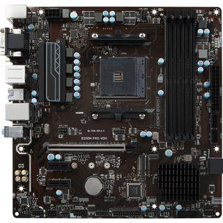 MSI B350M Pro-Vdh Mainboard AM4 bei Mindstar für 49,99 + VSK