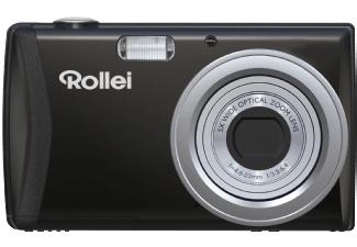 ROLLEI Compactline 800 Digitalkamera Schwarz, 20 Megapixel, 5x opt. Zoom, Farb-TFT-LCD [Mediamarkt und Amazon]