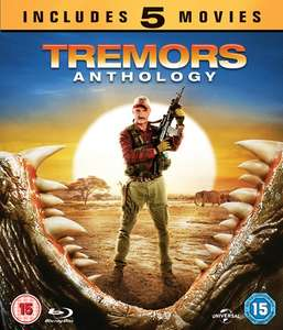 Tremors Anthology Blu-Ray (Box Set) Teil 1-5 für 7,69€ inkl. Versand (zoom.co.uk)