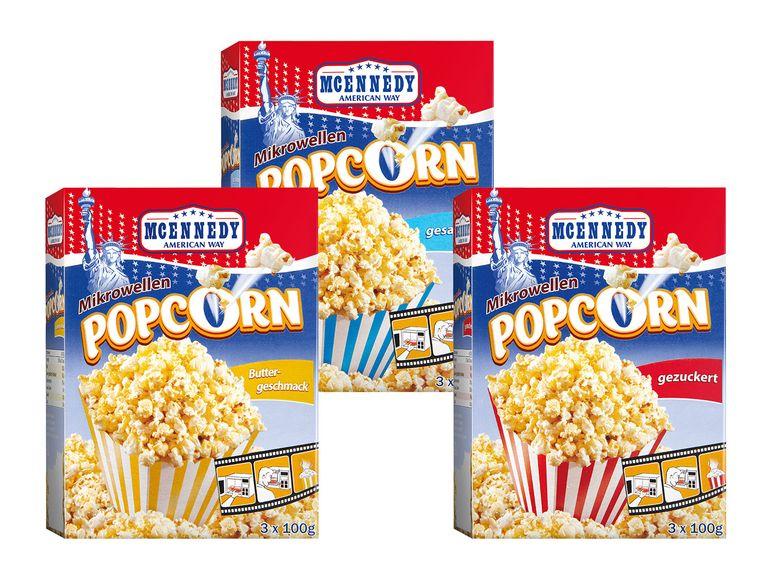 [Lidl] Mikrowellen Popcorn, 3x 100g