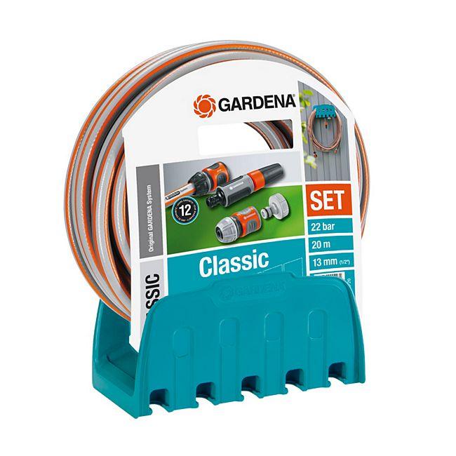 [Gartenxxl] Gardena 18005-50 Wandschlauchhalter + 20 m Schlauch 19€