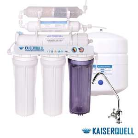 Premium Osmoseanlage von KAISERQUELL. 6 Stufig sauberes Trinkwasser Wasserfilterung