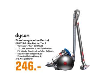 Dyson Big Ball Up-Top 2 Staubsauger [Saturn Dortmund City]
