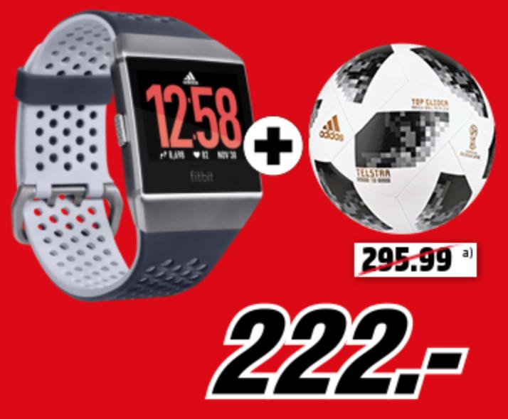 [MediaMarkt] FITBIT Ionic Adidas Edition plus Adidas Telstar18 Fußball