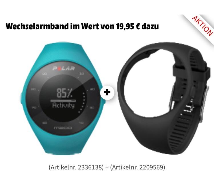 Polar M200 - GPS-Laufuhr mit Pulsmessung inkl Wechselband Media Markt