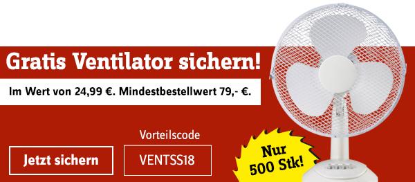 Gratis Ventilator bei 79€ MBW [Conrad.de]
