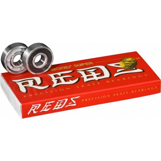 Bones Bearings Kugellager Super Reds für Inlineskates oder Skateboards