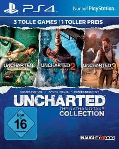 Uncharted: The Nathan Drake Collection (PS4) für 19.99 / PS+ 16,49 EUR