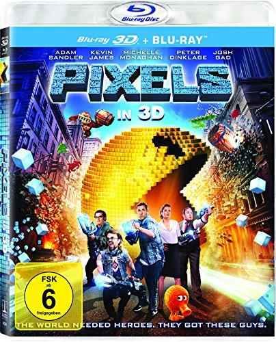 Pixels (3D Blu-ray + Blu-ray) für 7,45€ (Amazon Prime)