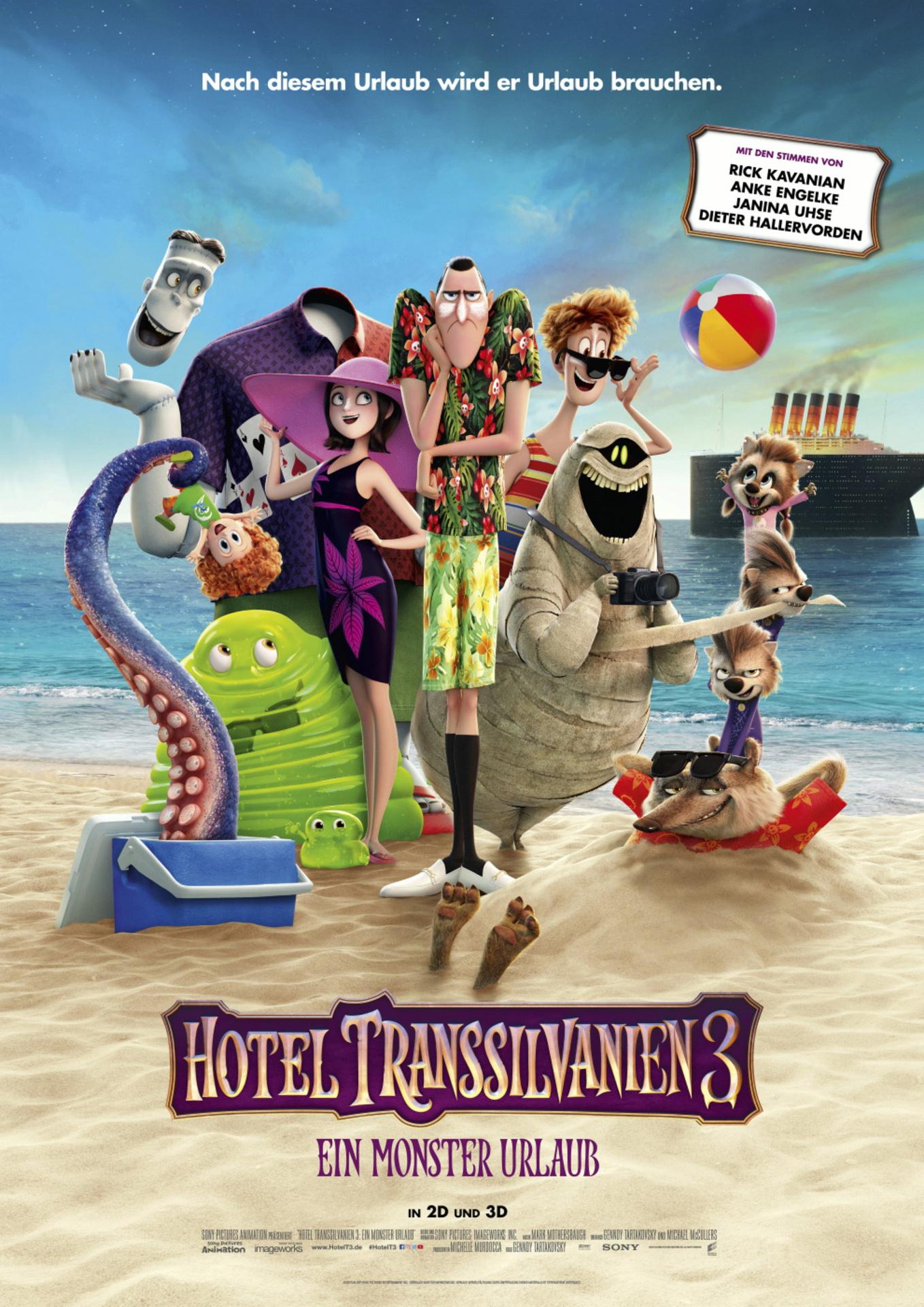 """[Radio Brocken, CinemaxX Halle und Magdeburg] Kostenlos in den Film """"Hotel Transsilvanien 3"""""""