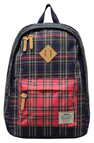 Skechers Mens Knight Backpack Red 25l Rucksack (Händler Versand durch Amazon)