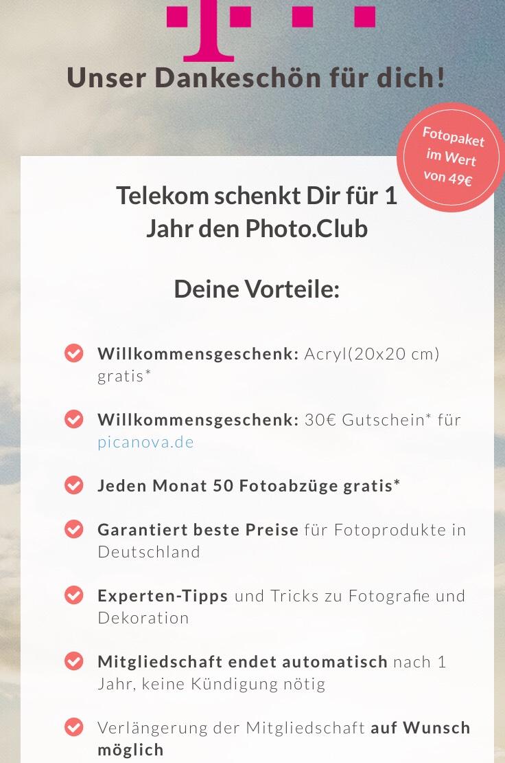 Jahresmitgliedschaft im Photo Club geschenkt im Mega Deal