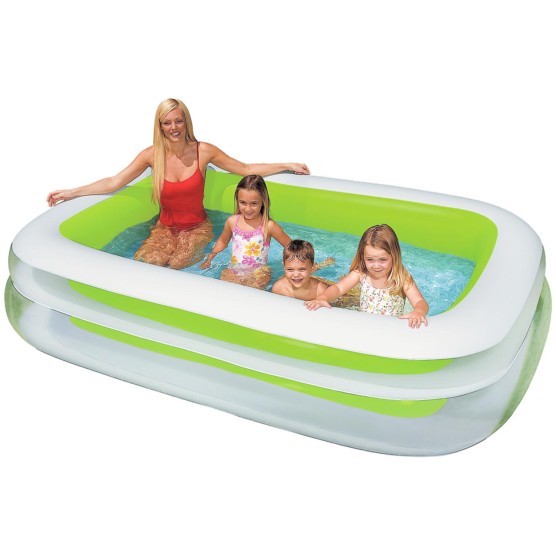 Abkühlung nötig? Intex Family Pool 262 x 175 x 56 cm bei Action
