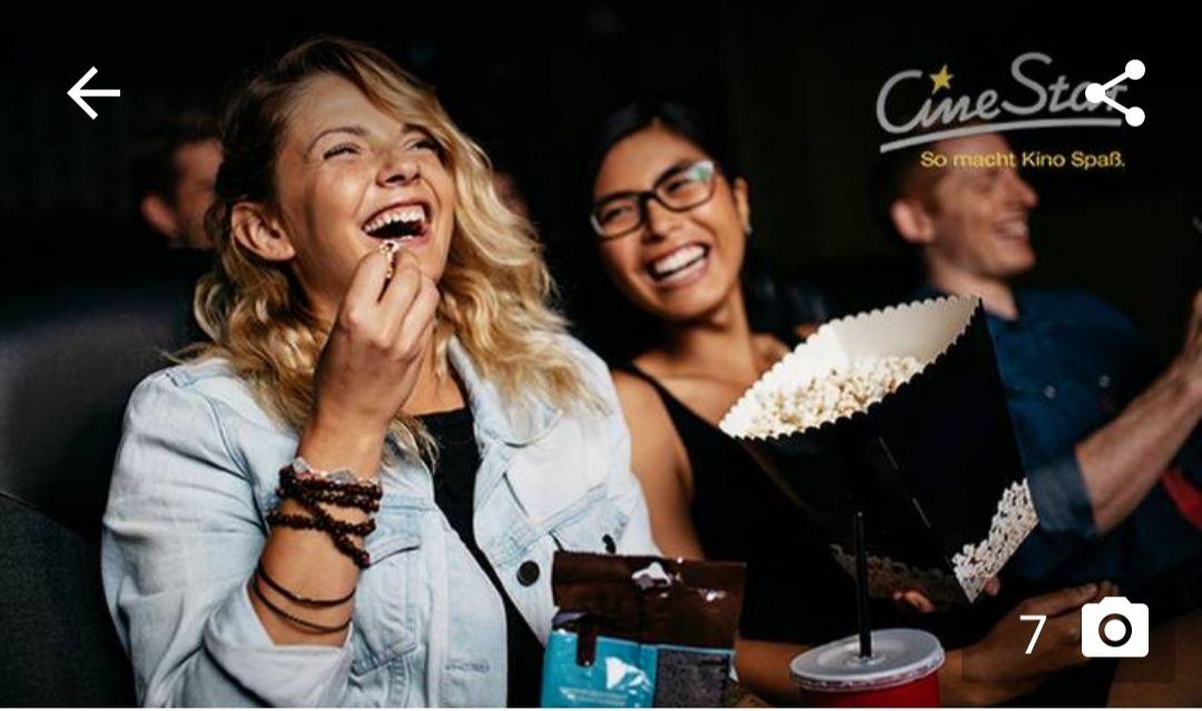 Groupon Cinestar - 5 Tickets für alle 2D-Filme inkl. Sitzplatz- und Filmzuschlag gültig bis Mitte November