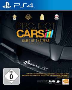 Project Cars - Game of the Year Edition (PS4) für 14,99€ bzw. für 13,49€ (Müller & Amazon Prime)