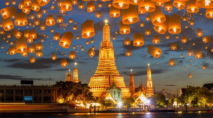 Flüge: Thailand (Bangkok) ab München Hin- und Rückflug inkl Gepäck [Oktober - März]