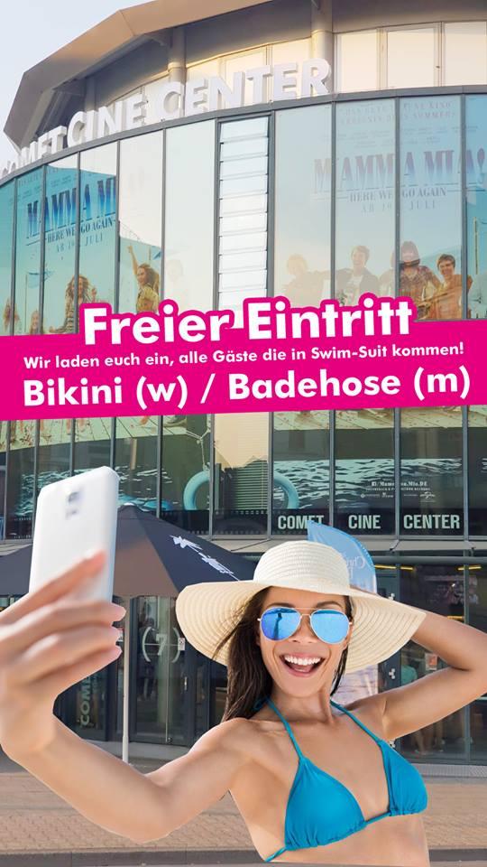 [LOKAL] Freier Eintritt Comet Cine Center Mönchengladbach