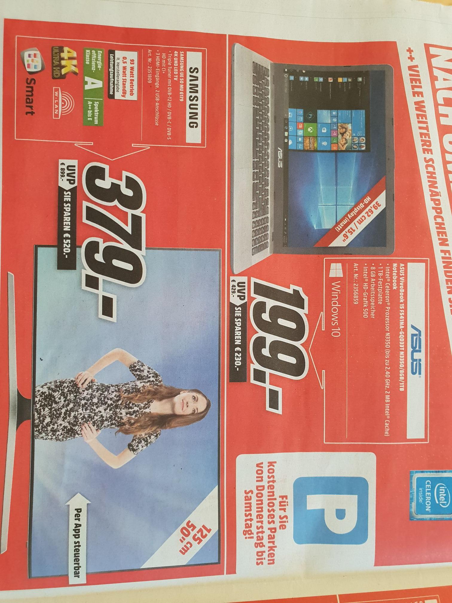 (Lokal) Samsung UE50MU6179 Media Markt München Haidhausen