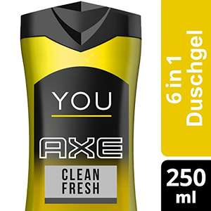 Axe Duschgel - You Clean Fresh - 6 x 250 ml - 5,65€ bei 5 Spar-Abos[Amazon Spar-Abo]