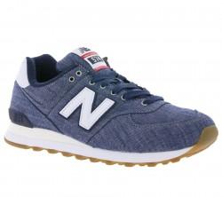 New Balance ML574 Sneaker Blau 574