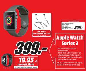Apple Watch 3 & Beats X