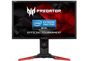 ACER Predator XB241H 24 Zoll Full-HD Gaming Monitor (1 ms Reaktionszeit, G-SYNC, 144 Hz TN-Panel)