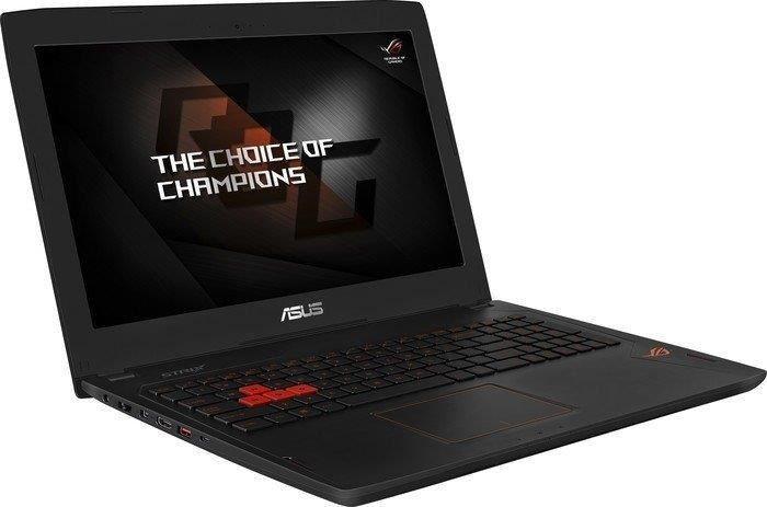 """ASUS ROG GL502VS-GZ224T 39.6 cm (15.6"""") Geforce GTX 1070 8GB), i7-7700HQ, 256 GB+1000GB(7200U/min)"""