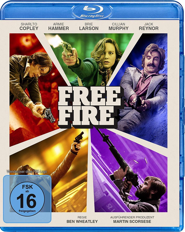 """[Euroshop] Action Kracher """"Free Fire"""" auf Blu-ray für 1€ - Angebot gilt vermutlich bundesweit"""