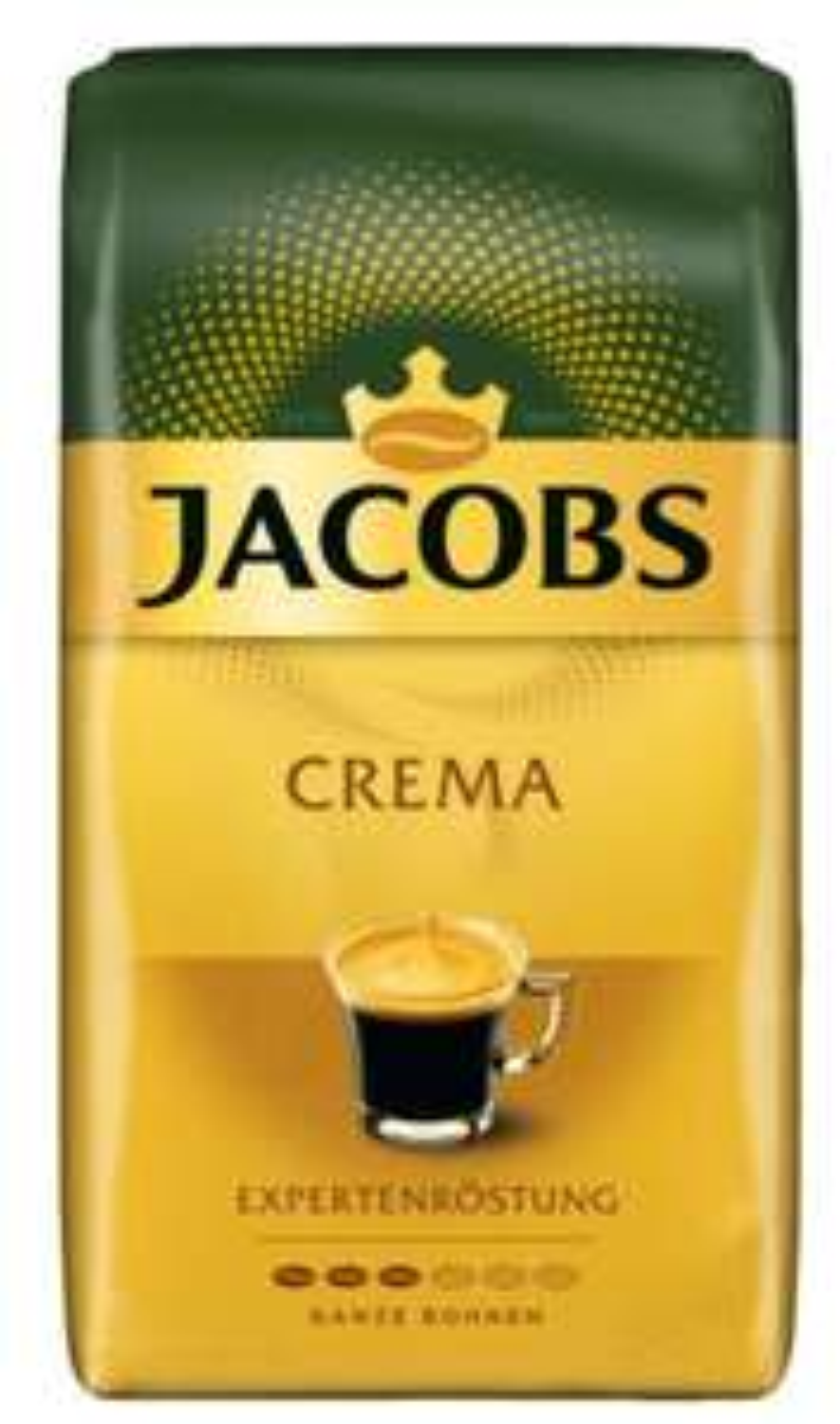 [real offline] Jacobs crema 1000g Ganze Bohne