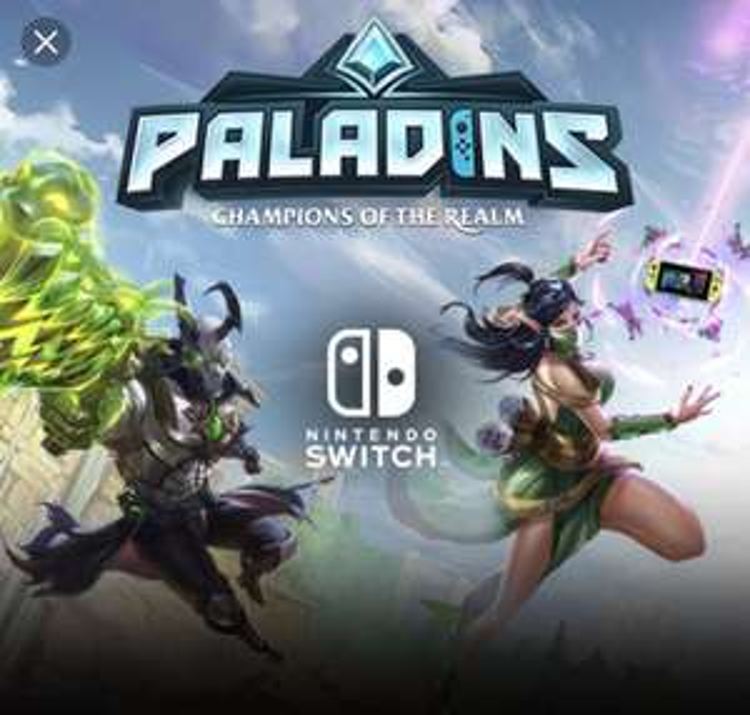 Paladins Nintendo Switch Free to Play