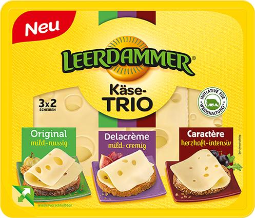 Vorankündigung: Leerdammer Käse-Trio GRATIS TESTEN