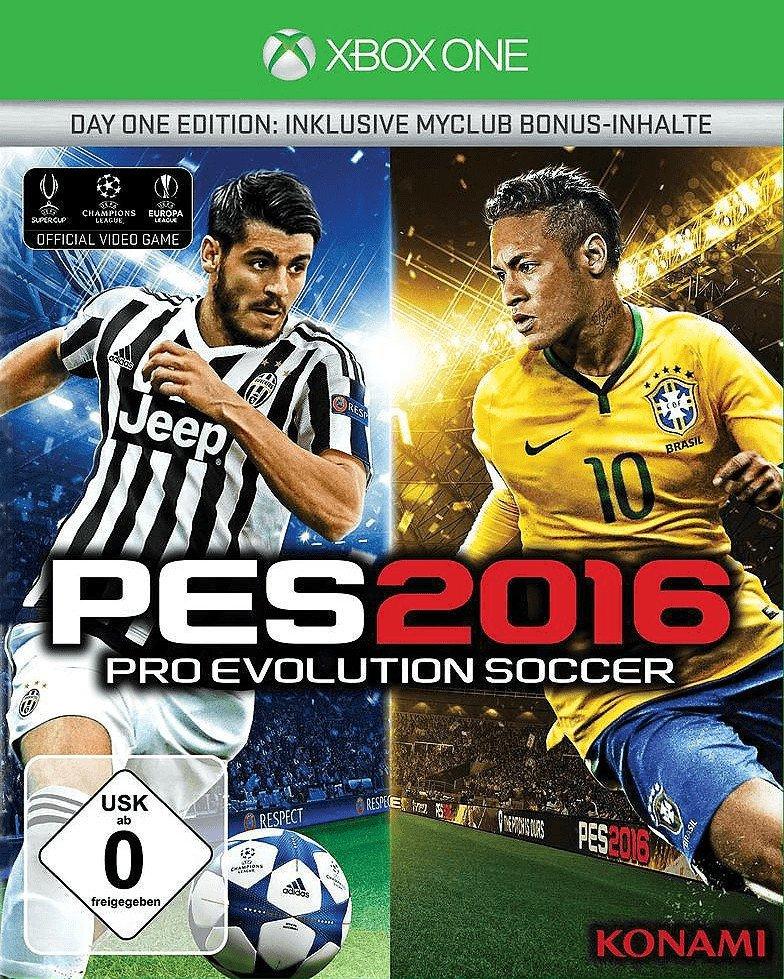 Pro Evolution Soccer 2016 Day One Edition (Xbox One) für 3,99€ versandkostenfrei (Saturn)