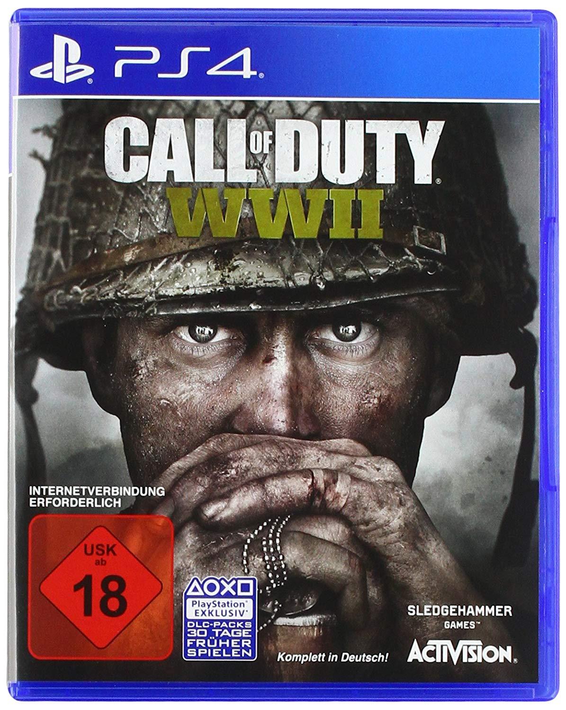 Call of Duty: WWII (PS4) für 24,99€ versandkostenfrei (Saturn & Amazon)