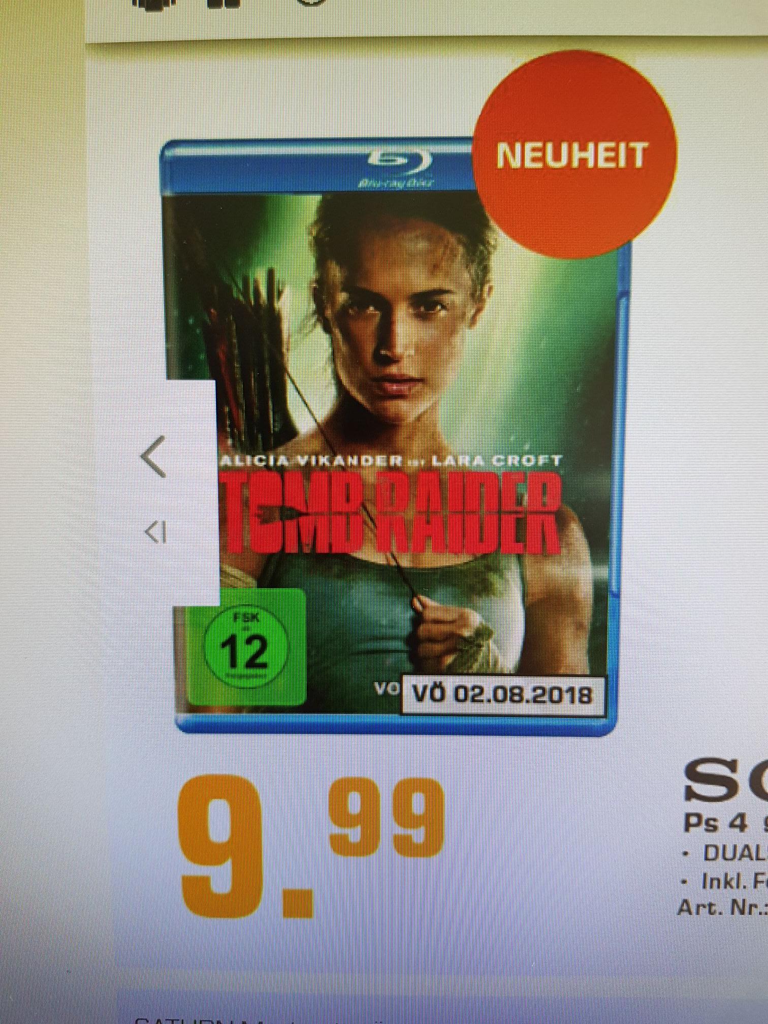Tomb Raider Blu-ray Lokal Saturn Mönchengladbach, Rheydt und Krefeld