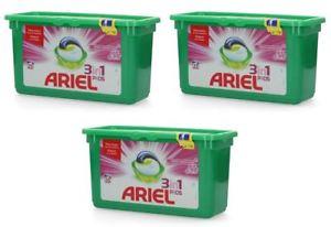 """3er Pack Ariel 3in1 Pods """"Pink Fresh Sensation"""" (105 Stück) für 19,99€ (0,19€/WL)"""
