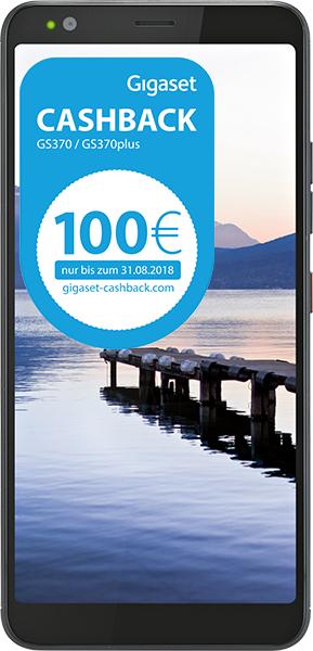 Gigaset GS370 schwarz im smartmobil LTE Special mit 2GB LTE für insgesamt 275,74€
