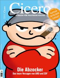 Cicero Abo (12 Ausgaben) für 117,60 € mit 100€ Amazon-Gutschein bzw. 95€ Verrechnungsscheck bzw. für 19,95€ durch Rabatt