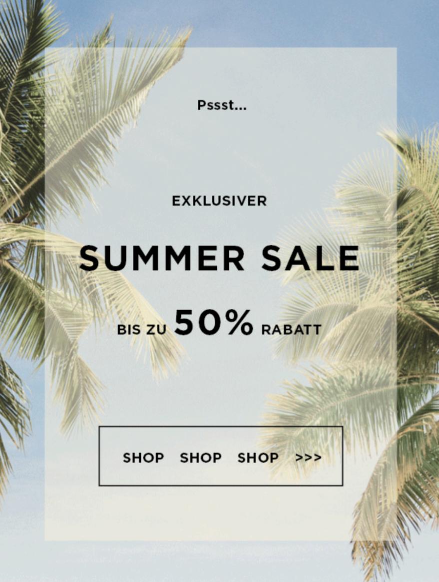[Kapten & Son] Summer Sale mit bis zu 50% Rabatt