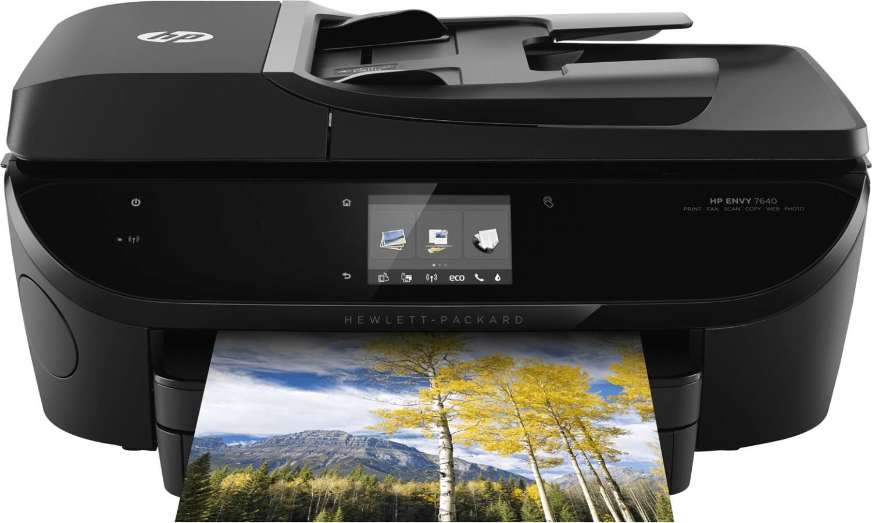 Multifunktionsdrucker ENVY 7640 E-ALL-IN-ONE, 4-in-1, WLAN, schwarz