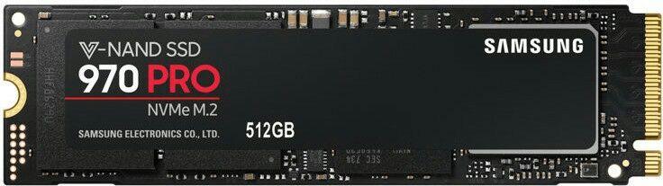 Samsung 970 PRO Intern SSD M.2 PCIe NVMe (MLC) - 512 GB (eBay-Saturn)